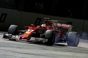 Formula 1 Breaking news Vettel merasa beruntung setelah membentur dinding di Q3