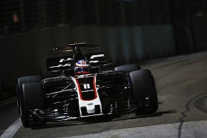 Formule 1 Actualités Haas: Les difficultés de Singapour étaient juste passagères