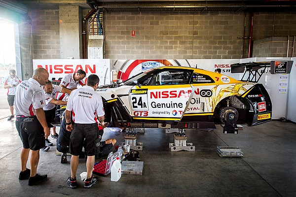 Endurance Crashed Nissan repaired in time for Bathurst qualifying
