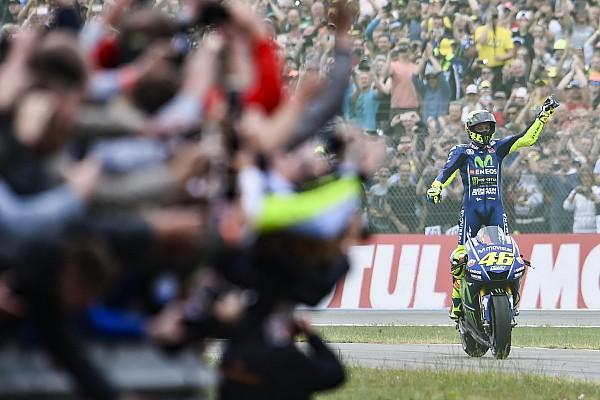 MotoGP La baja de Rossi no hace mella en la audiencia televisiva