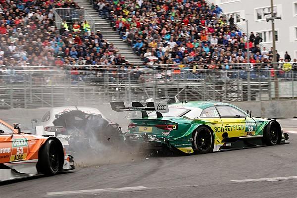 DTM Video: Mercedes revela que Paffett sufrió un impacto de 38 fuerzas G con Rockenfeller