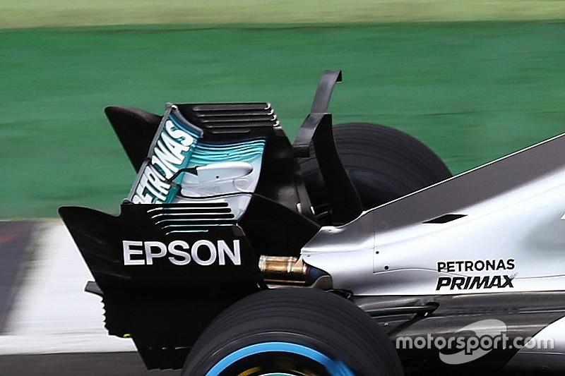 У Mercedes не впевнені у використанні кіля після тестів Т-крила