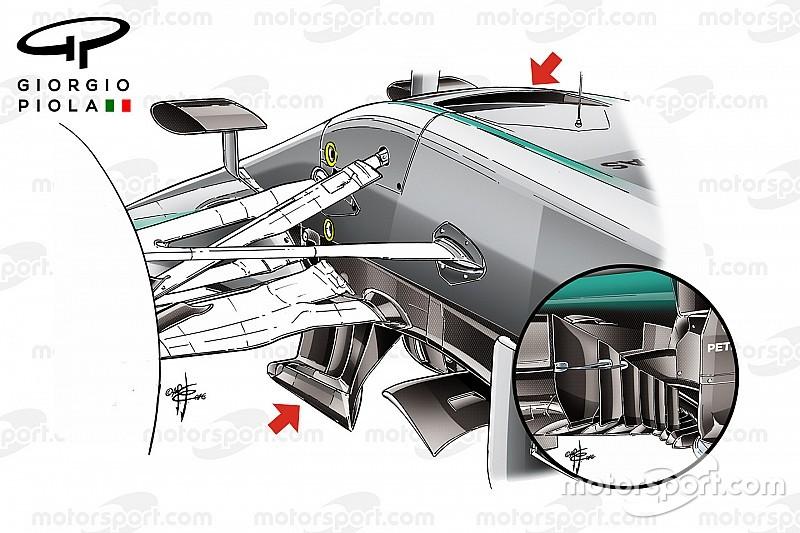 Технический анализ: Mercedes наступает по всем направлениям