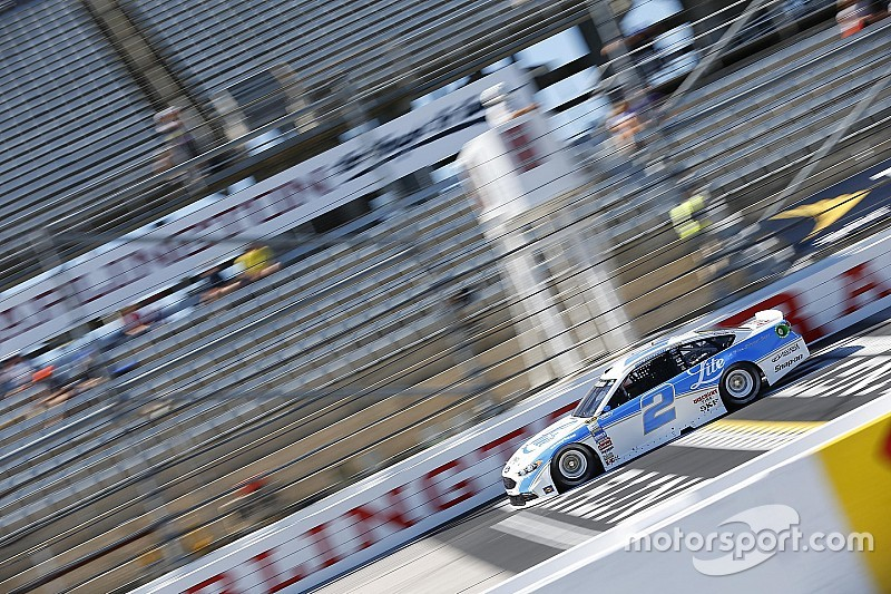 Keselowski leads final Southern 500 practice at Darlington