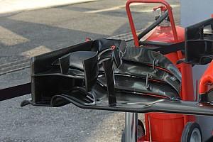Formule 1 Analyse Technique - Aileron avant revu sur les Haas-Ferrari