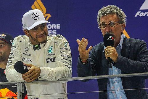 Кто лучше – Шумахер или Хэмилтон? Версия Эдди Джордана