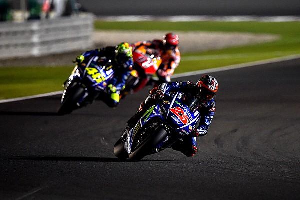 MotoGP News MotoGP 2017: Vinales erstaunt über Rossis Comeback in Katar