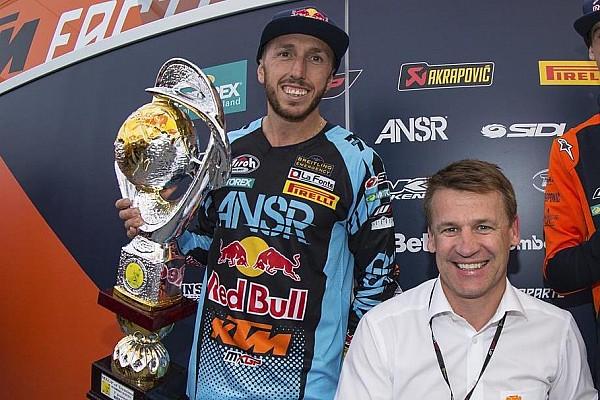 Oggi Tony Cairoli farà un test premio con la KTM MotoGP a Valencia