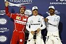 La parrilla de salida del GP de Bahrein