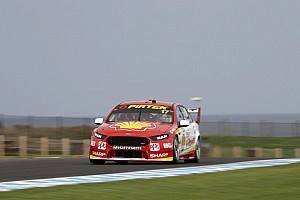 Supercars Qualifying report Phillip Island Supercars: McLaughlin charges to Race 1 pole
