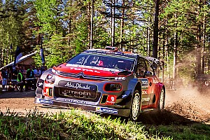 WRC Ultime notizie Citroen sfrutterà gli ultimi 2 gettoni d'evoluzione per il telaio
