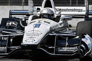 IndyCar Testing report Pagenaud leads Penske 1-2-3 in Sonoma test