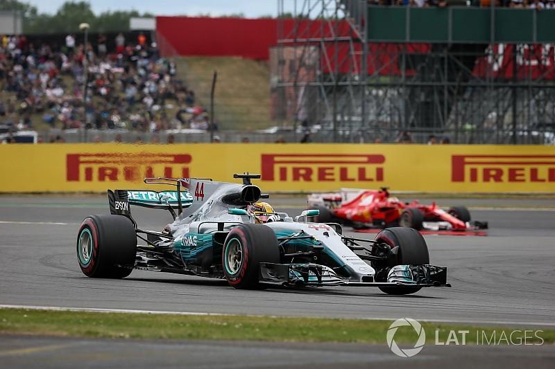 Hamilton redujo su ritmo al 50% tras el drama de Ferrari