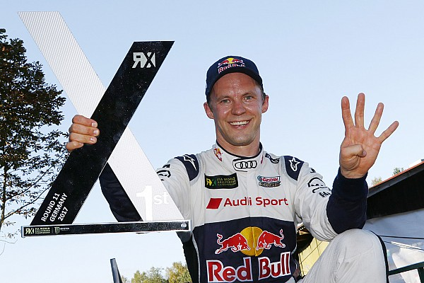 World Rallycross Almanya WRX: Ekström beş ay sonra ilk zaferini kazandı