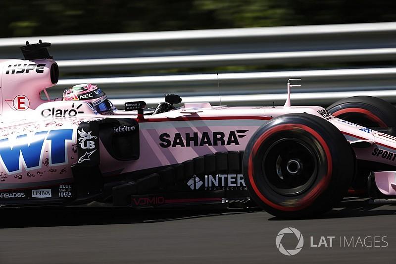 Pérez pone como meta la Q3 en Hungría