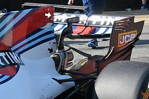 F1 分析 威廉姆斯测试双T字翼