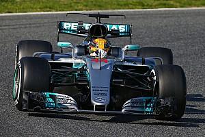 【F1】合同テスト1日目総合:ハミルトン首位。アロンソ29周を走行