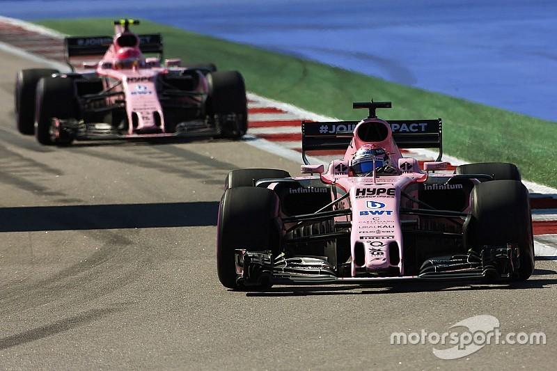 En Force India no descartan luchar con Red Bull tras la actualización