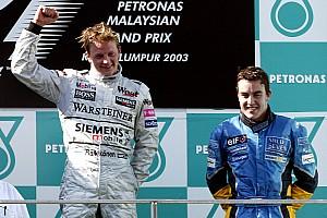 Formule 1 Diaporama Diaporama - Toutes les F1 de Kimi Räikkönen et Fernando Alonso