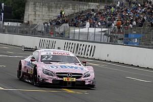 DTM Trainingsbericht DTM 2017 am Norisring: Mercedes-Pilot Lucas Auer holt Bestzeit