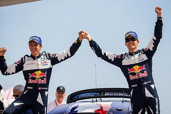 WRC Breaking news M-Sport: Ogier now