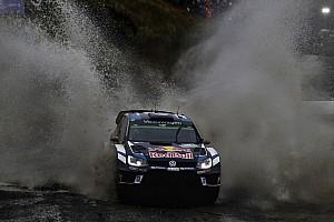 WRC Leg report Wales WRC: Ogier pulls out big lead as Latvala falls back