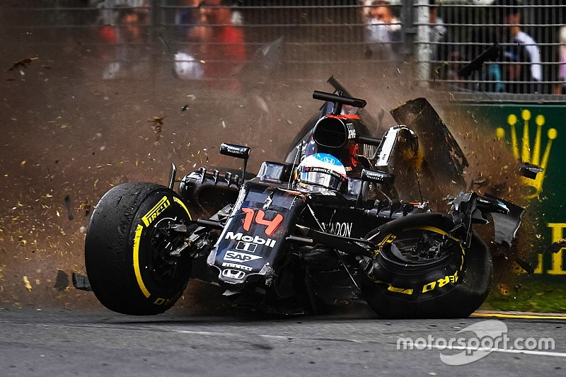 McLaren Honda: Race and accident report from the Australian GP