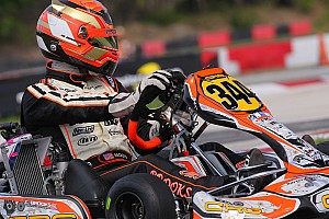 Kart Race report Brooks, d'Olrando top Friday heat races to claim pre-final pole