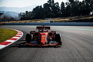 Ferrari completó día de filmación en Barcelona