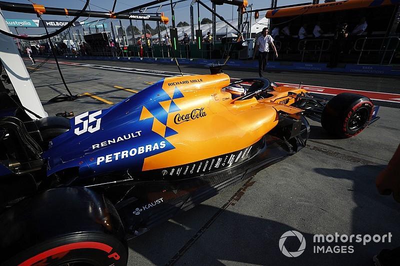 McLaren aún no está utilizando el combustible Petrobras