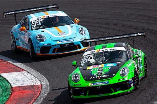 Carrera Cup Italia, Vallelunga: Fenici vince in Michelin Cup dopo la penalty a De Giacomi!