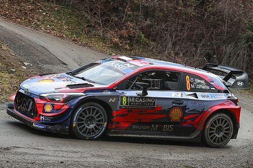 Tanak escapes massive crash in Monte Carlo rally