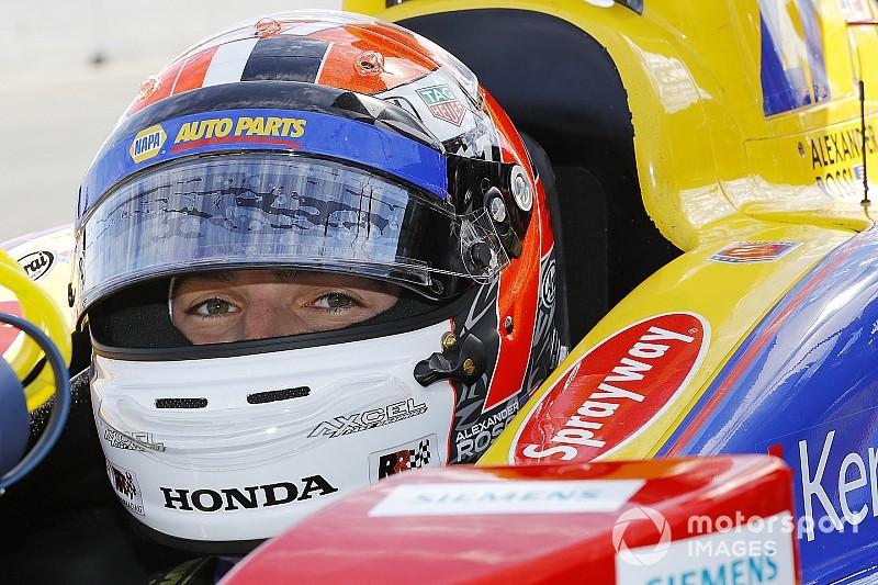 Rossi celebra primeira experiência com a Indy em Austin