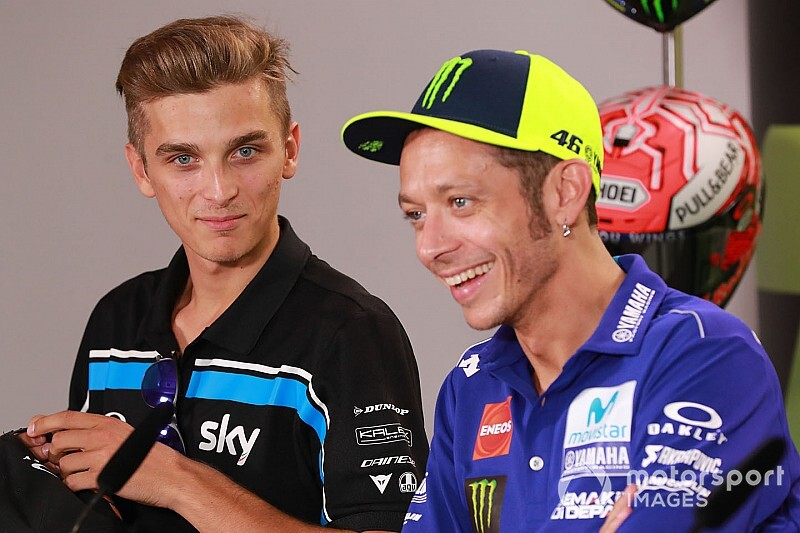 Marini won't risk early MotoGP move to race with Rossi