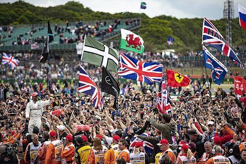 GP Wielkiej Brytanii przy pełnych trybunach