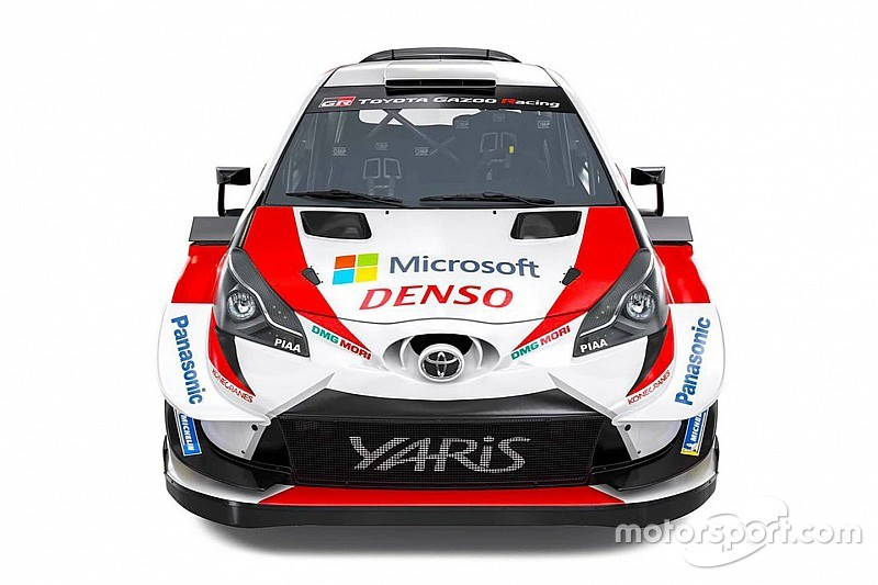 Fotogallery: ecco la livrea 2019 della Toyota Yaris WRC di Tanak, Latvala e Meeke