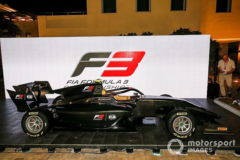 Neue Formel 3 Meisterschaft Präsentiert Das Auto Für 2019