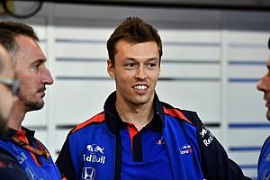 Kvyat, Toro Rosso'nun İtalya'daki fabrikasını ziyaret etti