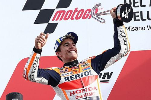 Marquez says wet practices crucial to his Misano win