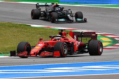 """Ferrari, écurie la """"plus rapide du milieu du peloton"""" en Espagne"""