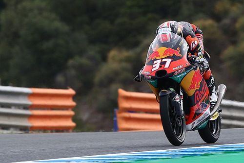 Moto3 in Jerez FT3: Pedro Acosta stürzt und verpasst Q2-Einzug