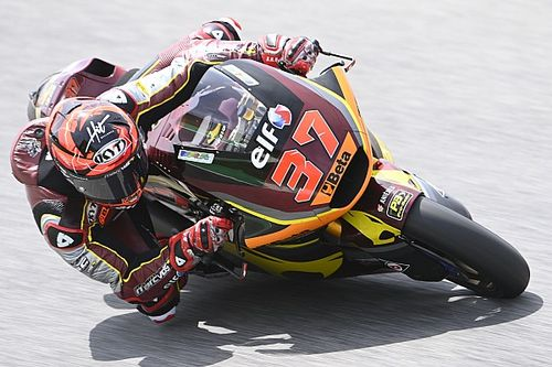 Moto2, Barcellona, Libere 1: Fernandez comanda su Lowes