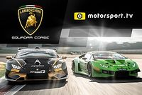 """لامبورغيني تطلق قناة خاصة بها ضمن منصة """"موتورسبورت.تي في"""""""