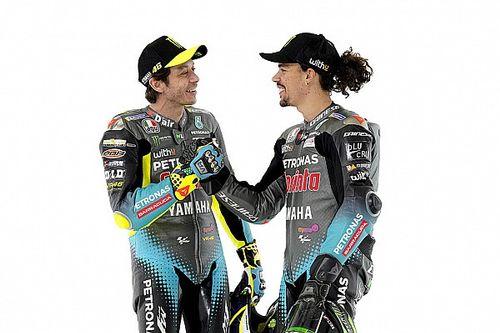 Vriendschap tussen teamgenoten Rossi en Morbidelli verandert niet