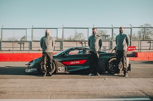 Leading LMP2 squad Jota to run McLaren in GT World Challenge Europe