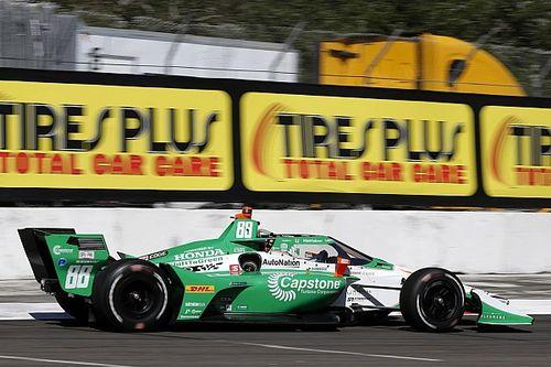 Hinchcliffe to run Capstone sponsorship in six races