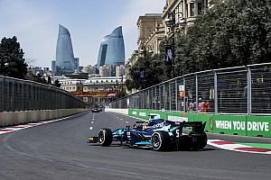 FIA F2 Rennbericht Formel 2 Baku: Albon gewinnt chaotisches Hauptrennen