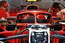 Formula 1 Ferrari: è sparito il flap vietato come (inutile) supporto degli specchietti