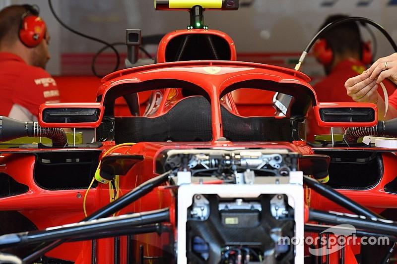 Ferrari: è sparito il flap vietato come (inutile) supporto degli specchietti