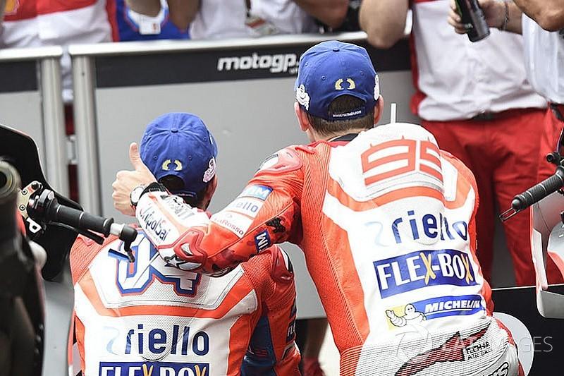 Лоренсо та Довіціозо: чи загрожує Ducati конфлікт?
